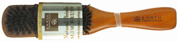 Natural Bristle Brush / Slim: Earth Therapeutics