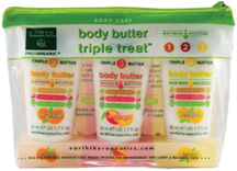 Body Butter Triple Treat Kit 3 pc. Earth Therapeutics