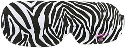 Contoured Sleep Mask Zebra Earth Therapeutics