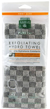 Exfoliating Hydro Towel Charcoal Earth Therapeutics