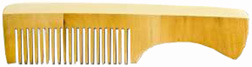Wooden Comb w/ Handle #606: New England Earthline
