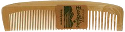 Wooden Comb Large #602: New England Earthline