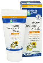 Acne Treatment Mask (Sulfur 5%) Earths Care
