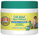Cold Relief Vapor Ointment 2.8 oz.  Earth's Best