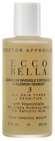 Leave-On Invisible Exfoliant & Blemish Remedy, 2 oz. Ecco Bella Botanicals