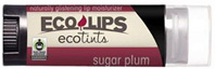 Eco Tint Lip Balm Plush Red 0.15 oz. Eco Lips