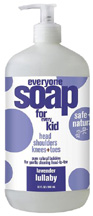 Everyone Kids Liquid Soap Lavender Lullaby 32 oz. EO Products