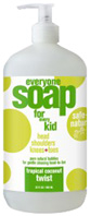 Everyone Kids Soap Tropical Coconut Twist 32 oz. EO Products