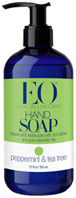 Hand Soap Peppermint & Tea Tree 12 oz. EO Products