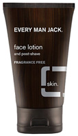 Face Lotion Fragrance Free, 4.2 oz. Every Man Jack
