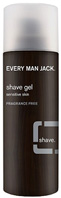 Shave Gel Fragrance Free, 7 oz. Every Man Jack