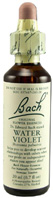 Original Flower Essence Water Violet 0.7 oz. Bach Flower Remedies