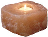 Mini Salt Candle Holder: Folioe