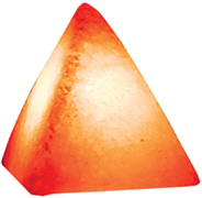 Pyramid Salt Lamp: Folioe