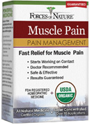 Muscle Pain Management 11 ml. Forces of Nature