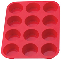 Mrs. Anderson's Baking Silicone Pan Muffin 12 Cup