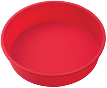 Mrs. Anderson's Baking Silicone Cake Pan Round 9.5 inches