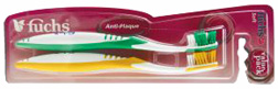 Anti Plaque Compact Head Soft FUCHS Toothbrush