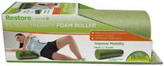Muscle Therapy Foam Roller 18 inch Gaiam