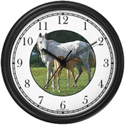 Mare & Foal Nursing Clock WatchBuddy Watches