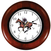 Polo Pony & Rider Down the Ball Clock WatchBuddy Watches
