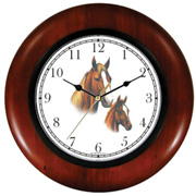 Tennessee Walkers Mare & Foal Clock WatchBuddy Watches