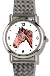 Bay or Brown Colored Horse WatchBuddy Watches
