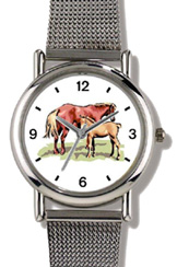 Mare & Foal JP Horse WatchBuddy Watches