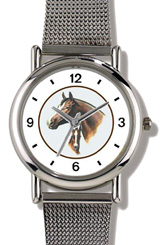 Stallion & Colt JP Horse in Circle WatchBuddy Watches