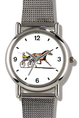 Sulky Horse Standardbred Racehorse WatchBuddy Watches