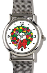 Christmas Wreath No. 1 Watch WatchBuddy Watches