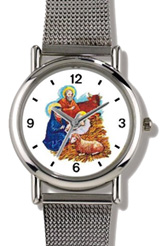 Nativity Scene in Manger Watch WatchBuddy Watches
