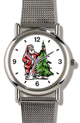 Santa Claus / Christmas Tree Watch WatchBuddy Watches
