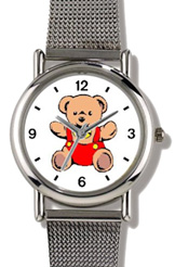 Teddy Bear / Red Outfit Watch WatchBuddy Watches