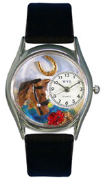 Horse Head Watch / Classic Silver Whimsical Watches