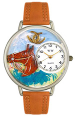 Horse Head Watch / Silver Whimsical Watches