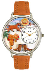 Ranch Watch / Silver Whimsical Watches