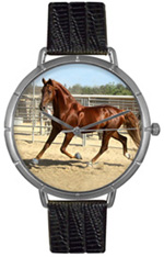 American Saddlebred Watch/Silver Whimsical Watches