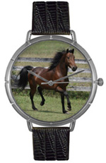 Morgan Horse Watch / Silver Whimsical Watches