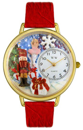 Christmas Nutcracker Watch / Gold