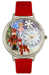 Christmas Nutcracker Watch / Silver