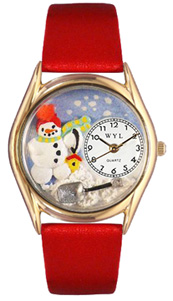 Christmas Snowman / Classic Gold