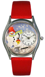 Christmas Snowman / Classic Silver