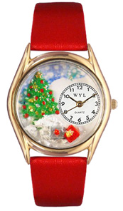 Christmas Tree Watch / Classic Gold