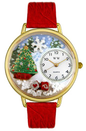 Christmas Tree Watch / Gold