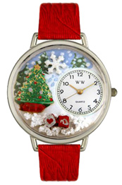 Christmas Tree Watch / Silver