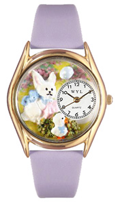 Easter Bunny Watch / Classic Gold