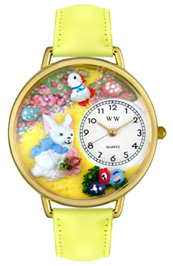 Easter Bunny Watch / Gold