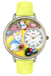 Easter Bunny Watch / Silver
