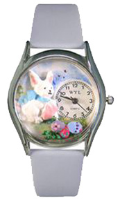 Easter Eggs Watch / Classic Silver